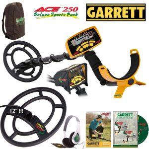 Garrett Ace 250 Dedektör (2 başlıklı full paket)