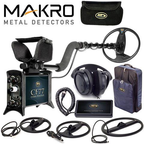 Makro CF77 Dedektör 3 Başlıklı Paket