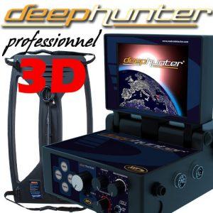 Makro Deephunter Pro 3D Dedektör (Ful Paket)